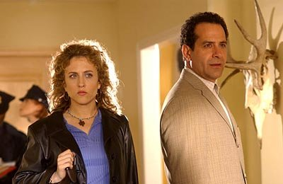 Bitty Schram and Tony Shalhoub Monk on USA Network
