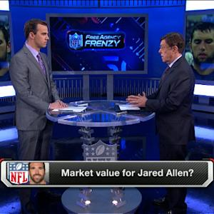 Market value for Jared Allen?