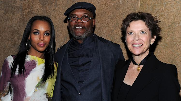 Mother and Child LA Premiere 2010 Kerry Washington Samuel L Jackson Annette Bening