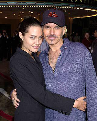 Angelina Jolie and Billy Bob Thornton at the Westwood premiere of MGM's Bandits