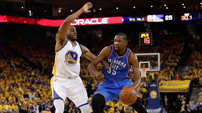 Andre Iguodala speculates on playing with Kevin Durant