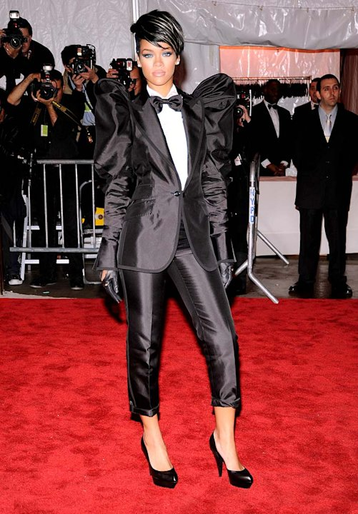 Rihanna The Met Gala