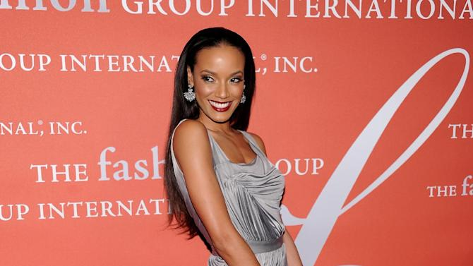 """Model Selita Ebanks attends the 29th Annual """"Night Of Stars"""" presented by The Fashion Group International at Cipriani Wall Street on Thursday Oct. 25, 2012 in New York. (Photo by Evan Agostini/Invision/AP)"""