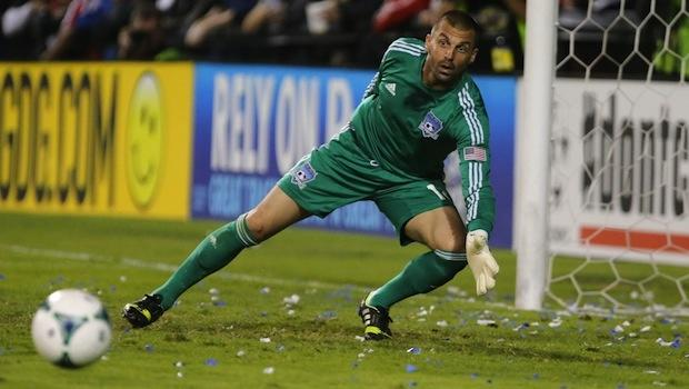 Jon Busch gets the perfect birthday present in San Jose's win over Sporting KC