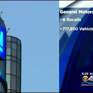 Details Of Six GM Recalls Released Wednesday