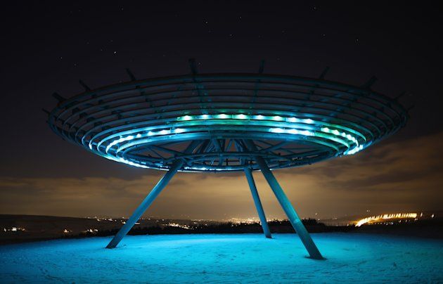 The Halo Panopticon Art Installation