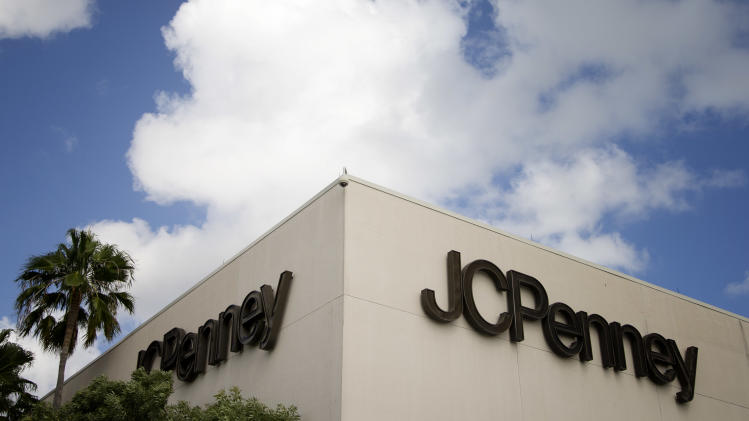 This Monday, Aug. 19, 2013 photo shows a J.C. Penney store in a Pembroke Pines, Fla., shopping center. On Tuesday, Aug. 20, 2013, J.C. Penney reports quarterly financial results. (AP Photo/J Pat Carter)