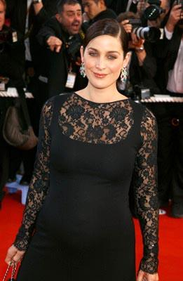 Carrie Anne Moss The Matrix: Reloaded Premiere Cannes Film Festival 5/15/2003