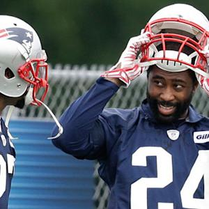 Is Darrelle Revis doing well at New England Patriots training camp?