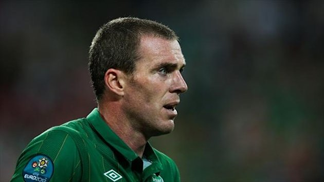 Richard Dunne is in Ireland's starting line-up
