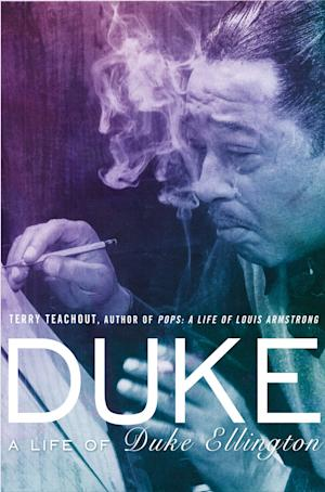 """This photo provided by Gotham Books shows the book cover of """"Duke: A Life of Duke Ellington,"""" by Terry Teachout. In the book, Teachout provides a portrait of a talented musician obsessed with his quest for respectability who remained evasive and deceptive in his dealings with band members and other close associates. (AP Photo/Gotham Books)"""