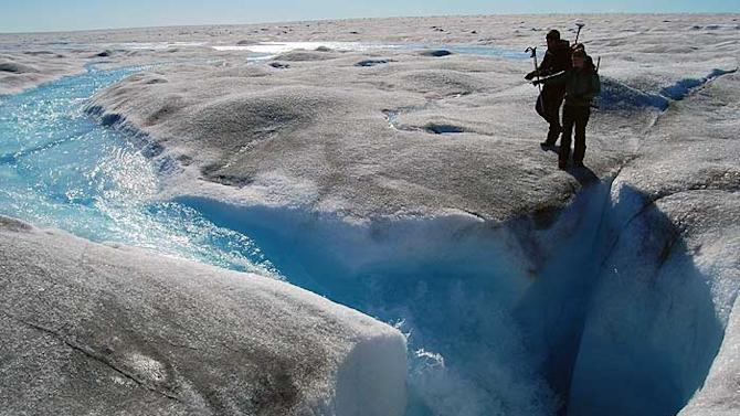 Thanks to satellite data, scientists have finally figured out why Greenland's ice sheet is melting