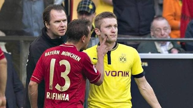 Rafinha has been slapped with a two-match ban for finger-poking (Imago)