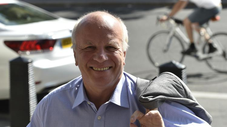 Football Association Chairman Greg Dyke arrives at the Houses of Parliament in central London