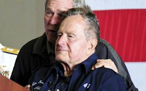 George H.W. Bush Is Singing in the ICU
