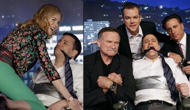 Scenes from 'Jimmy Kimmel Sucks' -- ABC