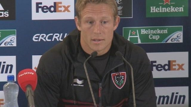 Wilkinson (RC Toulon) : &quot;Jouer 80 minutes avec le mme tat d&#39;esprit&quot;