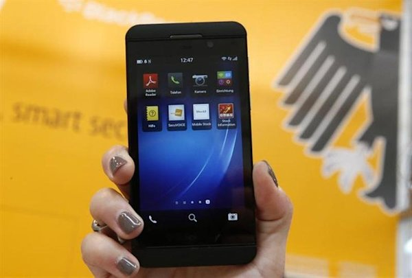 BlackBerry shares surge on huge order for new devices