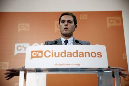 Spain's Ciudadanos overtakes Socialists ahead of debate
