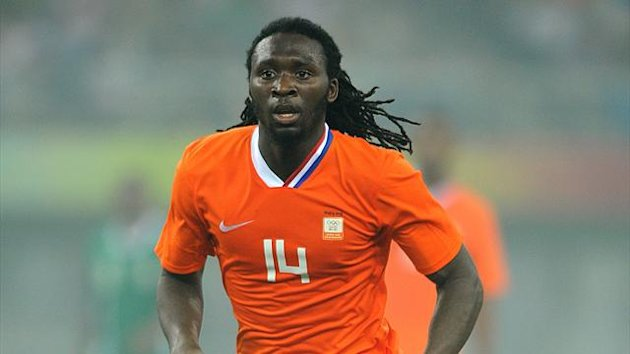 Evander Sno plays for the Netherlands at the 2008 Olympics