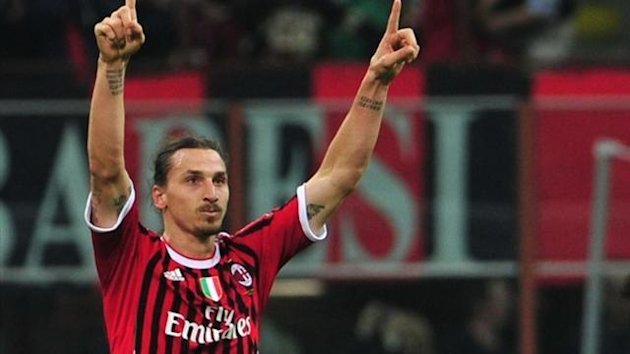 FOOTBALL 2012 Milan AC - Ibrahimovic