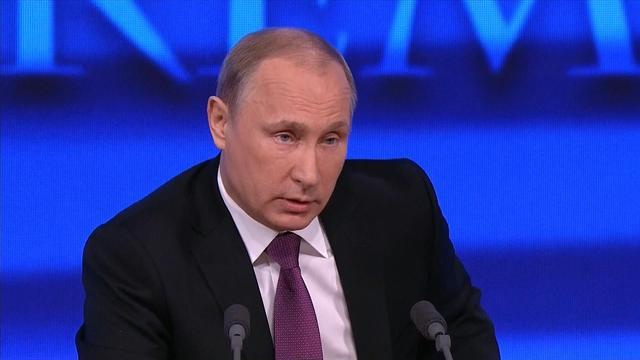 Putin blames the west for Russia's economic trouble