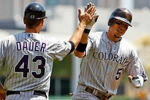 Gonzalez shines amid Rockies' gloom