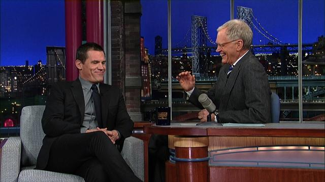 David Letterman - Josh Brolin's New Year's Arrest