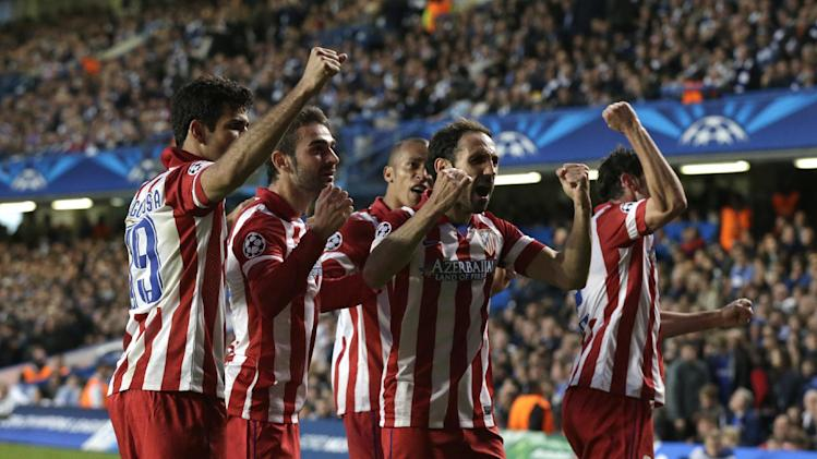 Atletico beats Chelsea 3-1, plays Real in final