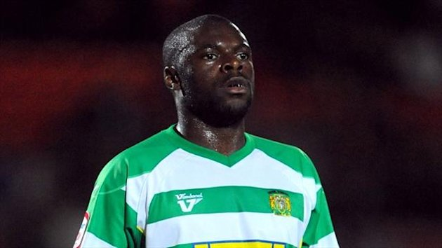 Former Yeovil defender Bondz Ngala is sticking with Portsmouth