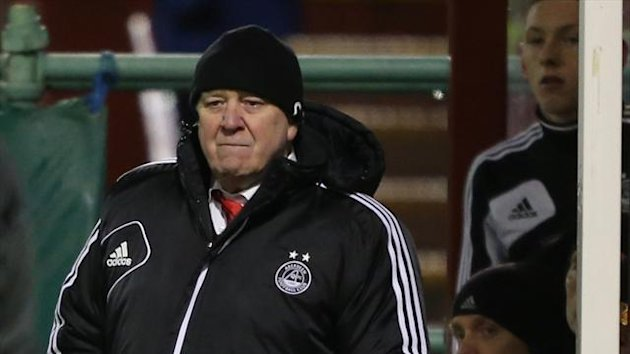 Craig Brown's Aberdeen currently sit in eighth position in the SPL table