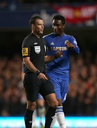 Mark Clattenburg, left, is understood to be completely denying the accusations made against him