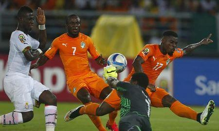 Gradel goal rescues 1-1 draw for Ivory Coast