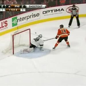 Alex Stalock Save on Sean Couturier (00:00/SO)