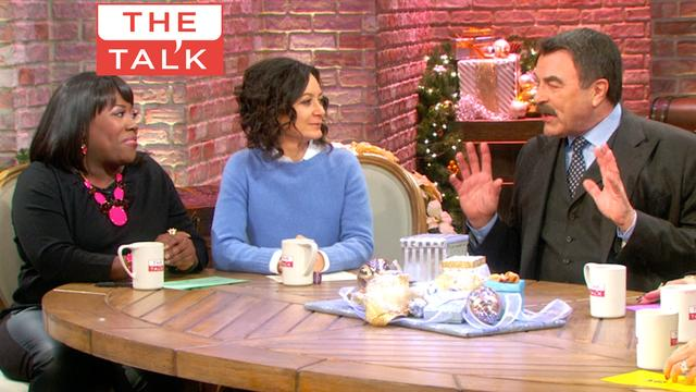 The Talk - Tom Selleck Remembers 'Y&R' Days