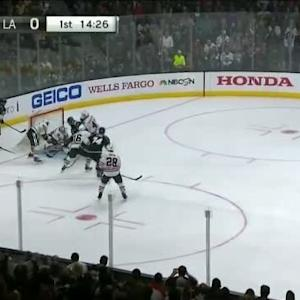 Corey Crawford Save on Jeff Carter (05:34/1st)