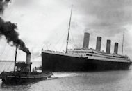 This file photo, recieved from Southampton City Council, shows the Titanic leaving Southampton on her ill-fated maiden voyage, on April 10, 1912. One of Australia's richest men, Clive Palmer, on Monday unveiled plans to build a 21st century version of the doomed Titanic in China, with its first voyage from England to New York set for 2016
