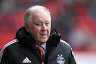 Dons boss Craig Brown was voted manager of the month