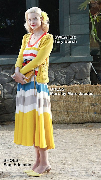 "Jaime King as Lemon Breeland in the Season 1 episode ""Gumbo & Glory."" Hart of Dixie"