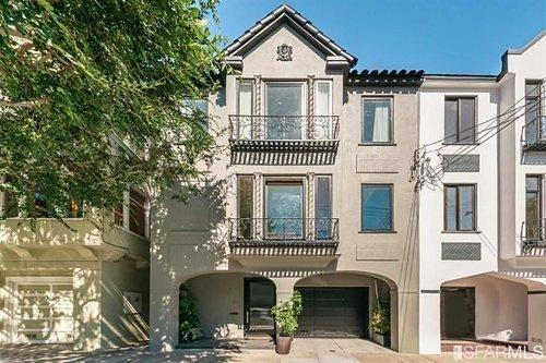Cow Hollow Home Sells for $5.995M, $1M More Than Last Year