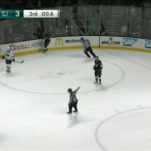 Logan Couture Empty net goal (19:57/3rd)