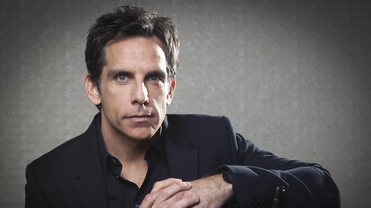 "Actor Ben Stiller poses for a portrait in advance of his movie ""The Secret Life of Walter Mitty"" in New York"