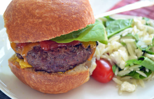 Homemade Burgers