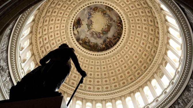 File photo of the U.S. Capitol Rotunda on Capitol Hill in Washington