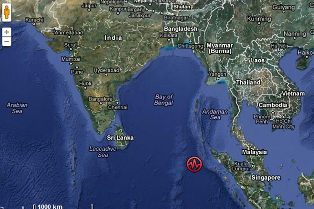 8.9 quake hits Indonesia, tsunami alert in India