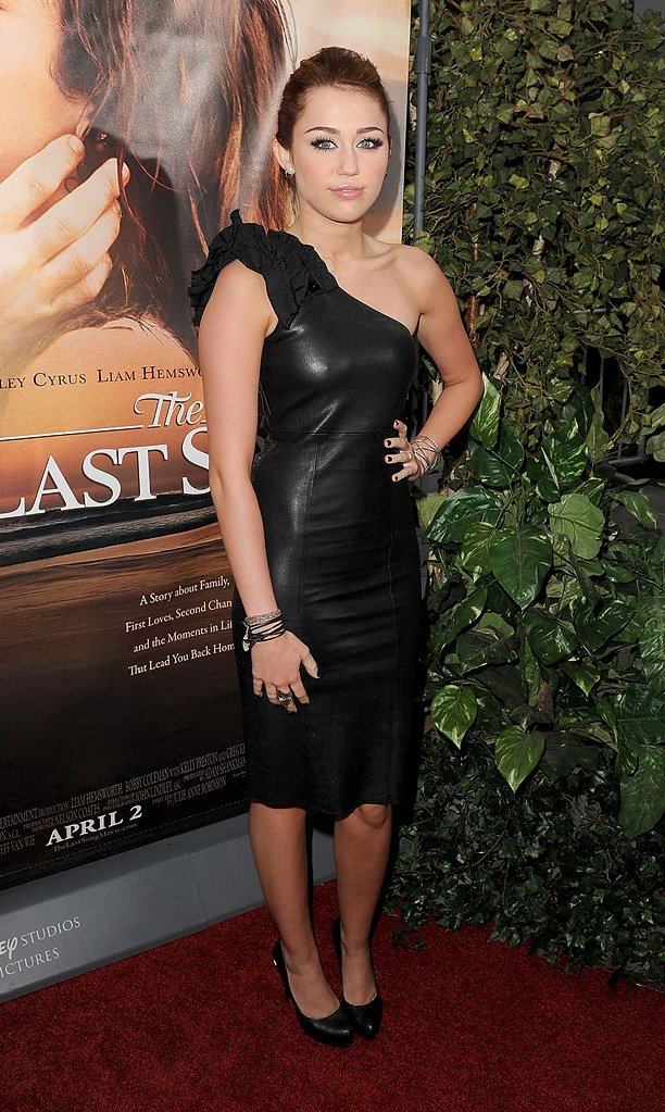 The Last Song LA Premiere 2010 Miley Cyrus