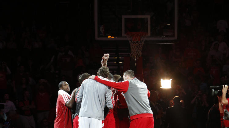 NBA: Charlotte Bobcats at Houston Rockets