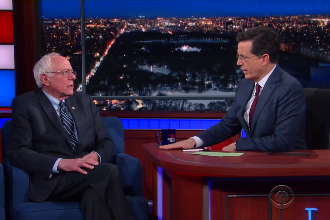 Bernie Sanders on how he's different from Donald Trump: I'm not racist, basically