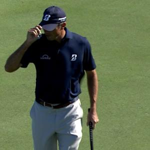 Matt Kuchar sinks a birdie on No. 11 at The RSM Classic