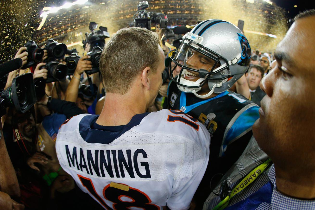 Don't think Cam Newton is humble? Just ask Peyton Manning.